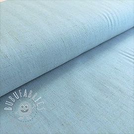 Linen viscose light blue