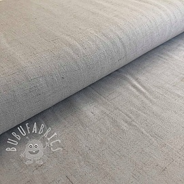 Linen viscose light grey