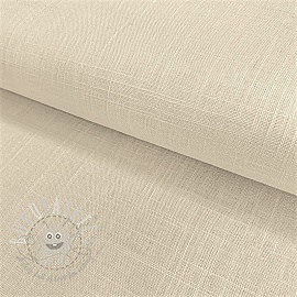 Linen viscose OFF WHITE