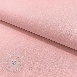 Linen viscose ROSE