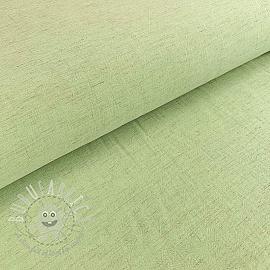 Linen viscose soft green