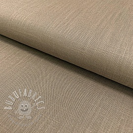 Linen viscose TAUPE
