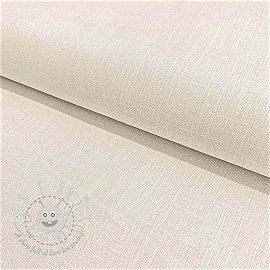 Linen viscose WHITE