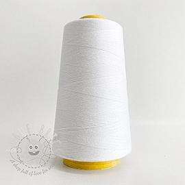 Lock yarn 2700 m  white