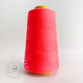 Lock yarn 2700 m neon pink
