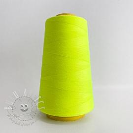 Lock yarn 2700 m neon yellow
