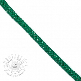 Lurex cord 10 mm apple green