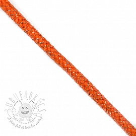 Lurex cord 10 mm orange
