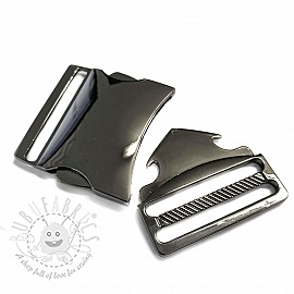 Metal Side Release Buckle 40 mm anthracite