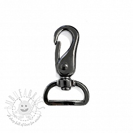 Metal Snap Hook 25 mm Anthracite