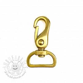Metal Snap Hook 25 mm gold