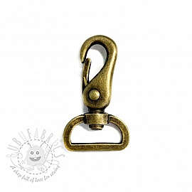 Metal Snap Hook 25 mm messing