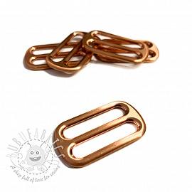 Metal Tri-Glide Slide 25 mm copper