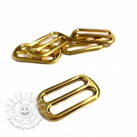 Metal Tri-Glide Slide 25 mm gold