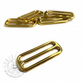 Metal Tri-Glide Slide 40 mm gold
