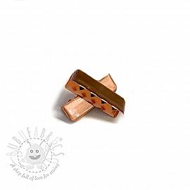 Metal Webbing End Clip 25 mm copper