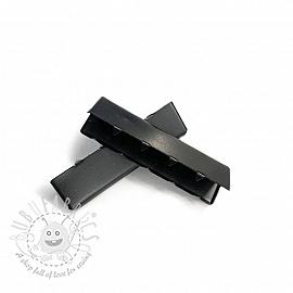 Metal Webbing End Clip 40 mm black