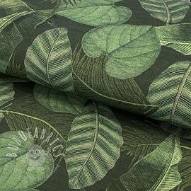 Outdoor decoration fabric teflon BOTANIC LEAF DETAILED