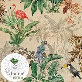 Outdoor decoration fabric TEFLON PALMTREES
