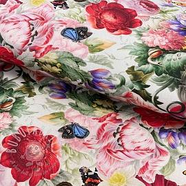Outdoor decoration fabric teflon ROMANTIC BOTANIC
