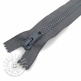 Plastic Jacket Zipper 20 cm anthracite
