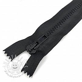 Plastic Jacket Zipper  20 cm black