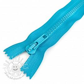 Plastic Jacket Zipper 20 cm dark aqua