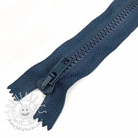 Plastic Jacket Zipper 20 cm marine