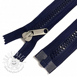 Plastic Jacket Zipper open-end 76 cm blue