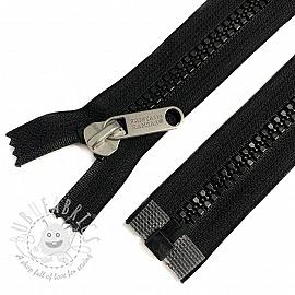 Plastic Jacket Zipper open-end 79 cm black