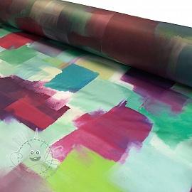 Raincoat fabric Rainy blocks