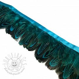 Ribbon Feather aqua