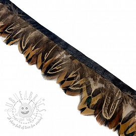 Ribbon Feather cognac