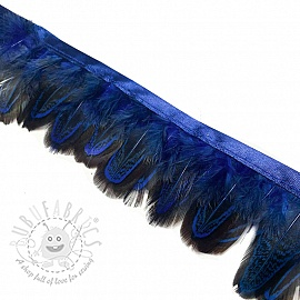 Ribbon Feather dark blue