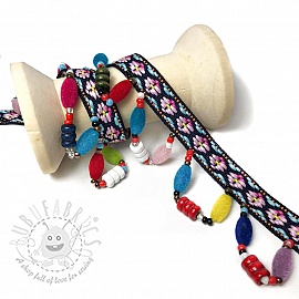 Ribbons Beads 6