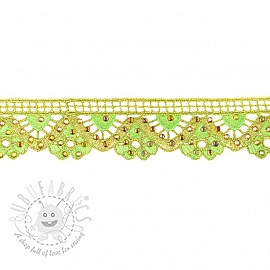 Ribbons Diamond lime
