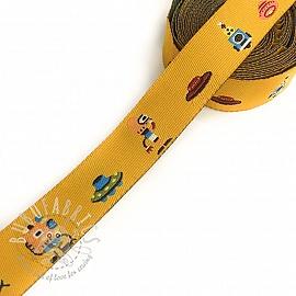 Ribbons Alien yellow