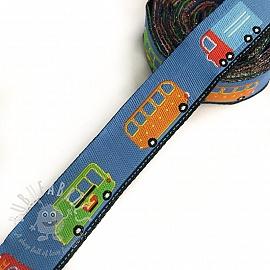 Ribbons Cars blue