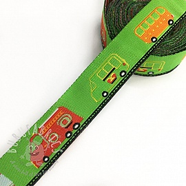 Ribbons Cars lime
