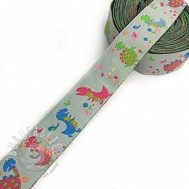Ribbons Little dragon grey