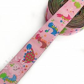 Ribbons Little dragon pink