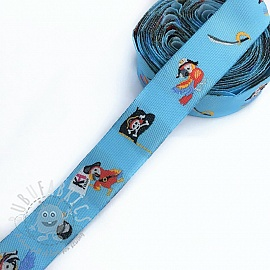 Ribbons Pirate light blue