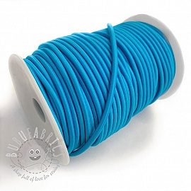 Round elastic 5 mm aqua