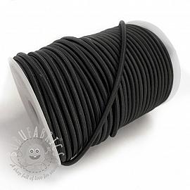 Round elastic 5 mm black