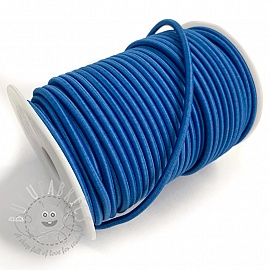 Round elastic 5 mm cobalt