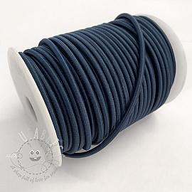 Round elastic 5 mm dark blue