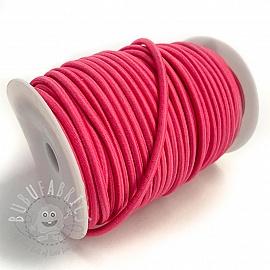 Round elastic 5 mm fuchsia