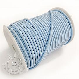 Round elastic 5 mm light blue