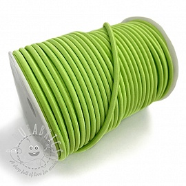 Round elastic 5 mm lime