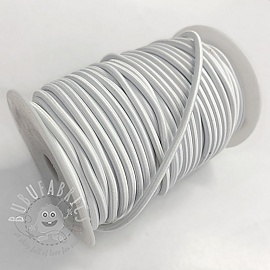 Round elastic 5 mm off white